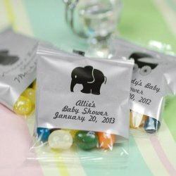 Personalized Baby Shower Jelly Belly Bag