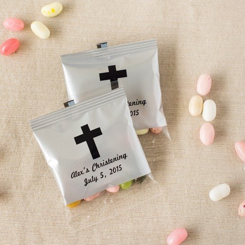 Personalized Baptism Jelly Belly Bag