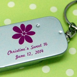 Personalized Birthday Mint Tin Keychain