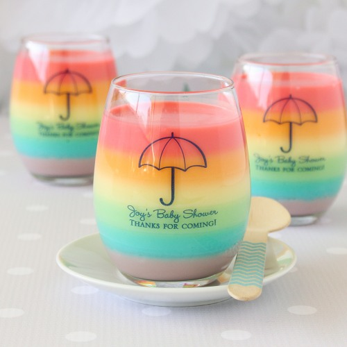 Personalized 9 oz Stemless Wine Glasses
