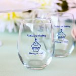 Personalized 9 oz. Birthday Stemless Wine Glass