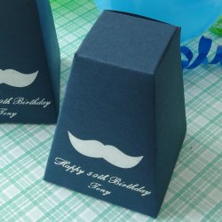 Personalized Pedestal Birthday Favor Box