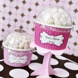 Personalized Baby Shower Cupcake Candy Favor