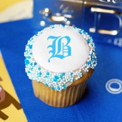 Personalized Mini Baby Shower Cupcake