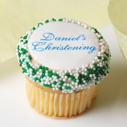 Personalized Mini Party Cupcake