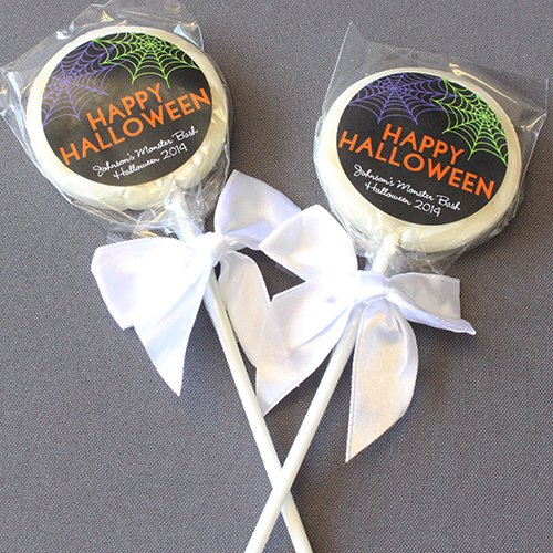 Personalized Holiday Lollipop