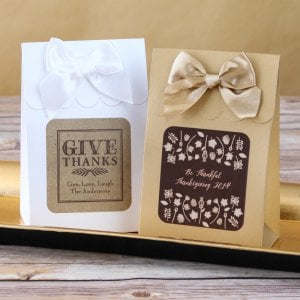 Personalized Holiday Candy Bags