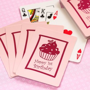Customized Birthday Playing Cards