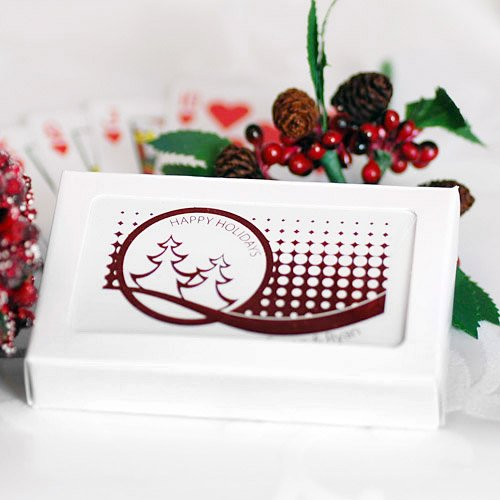 Customized Holiday Playing Cards