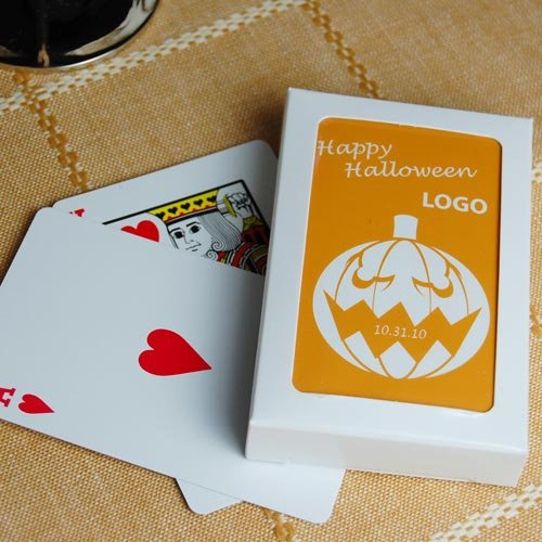 Customized Halloween Playing Cards