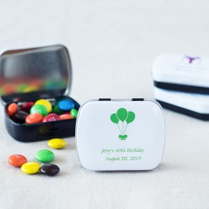 Custom Printed Birthday Candy Tin