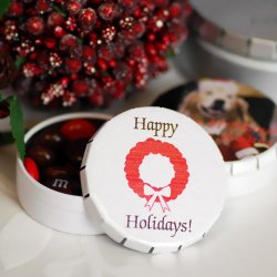 Personalized Snip Snap Party Favor Tin