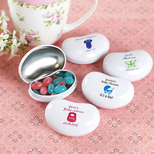 Personalized Baby Shower Jelly Belly Tins
