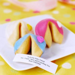 Custom Baby Shower Fortune Cookie