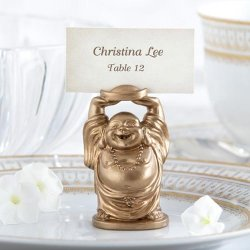 Laughing Buddha Place Card Holders