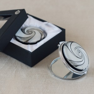 Murano Glass Compact Mirror