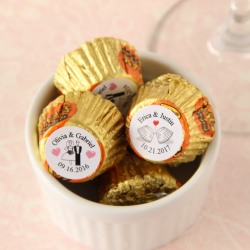 Personalized Wedding Reese's Peanut Butter Cups