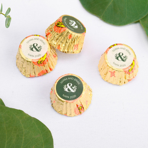 Personalized Eco Ampersand Wedding Reese's Peanut Butter Cups