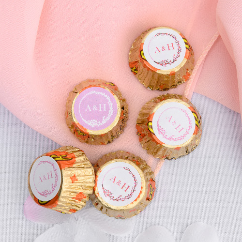 Personalized Cherry Blossom Wedding Reese's Peanut Butter Cups