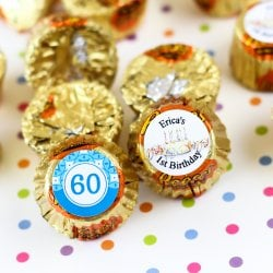 Personalized Birthday Reese's Peanut Butter Cups