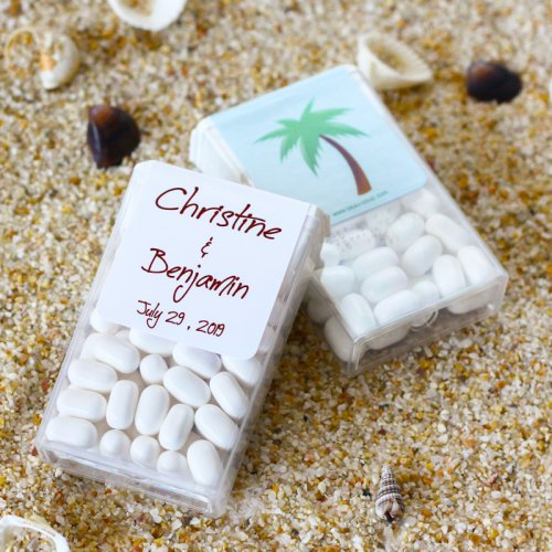 Personalized Beach Wedding Tic Tacs
