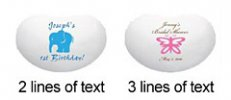 Jelly Bean Tin Text Layout