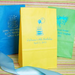 Personalized Birthday Party Goodie Bags