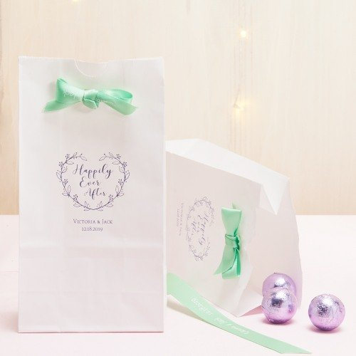 Personalized Happily Ever After Bridal Goodie Bag