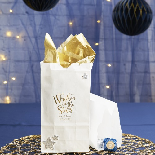 Personalized Written In The Stars Bridal Goodie Bag