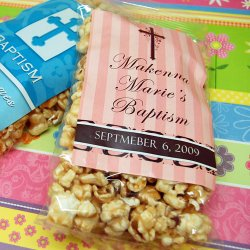 Personalized Religious Caramel Corn