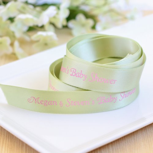Baby Shower Double-faced Satin Ribbon