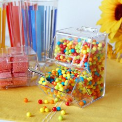 Mini Candy Dispensers With Scoop