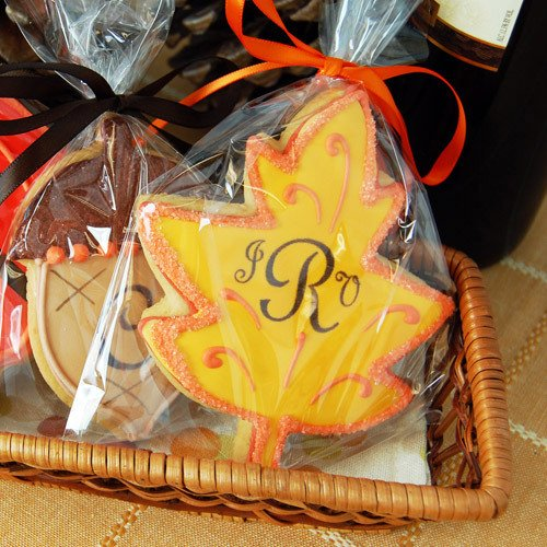 Personalized Autumn Cookies