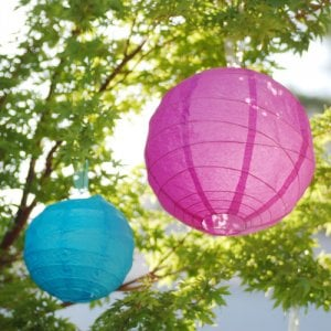 Criss Cross Ribbed Lantern