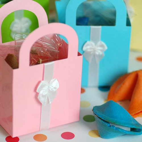 Mini Assorted Pastel Gift Bags
