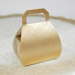 Embossed Favor Bags with Handles