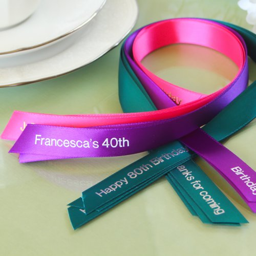 Personalized Favor Ribbon