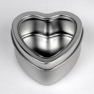 Heart Shaped Favor Tins