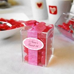 Mini Acrylic Favor Box