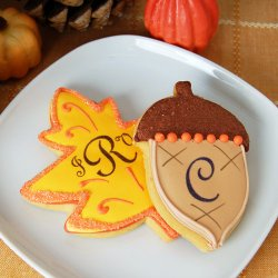 Personalized Fall Cookies