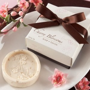 Cherry Blossom Soap Favor
