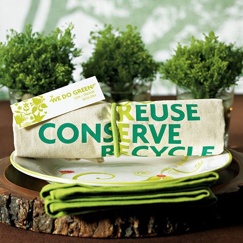 Eco Friendly Tote Bag Favors