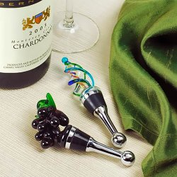 Art Glass Wine Stoppers