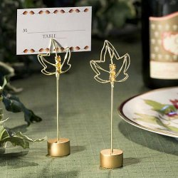 Fall Leaves Place Card Holders