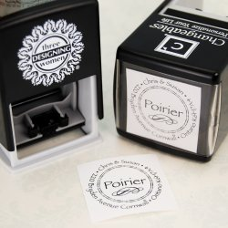 Custom Designer Self-Inking Stamps