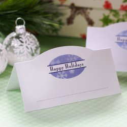 Custom Printed Place Cards