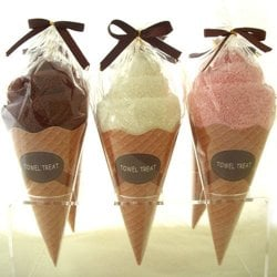 Ice Cream Towel Favors