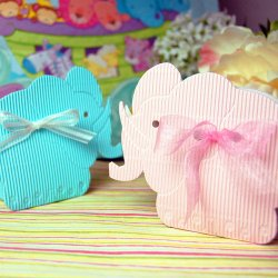 Elephant Favor Boxes