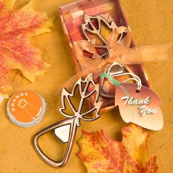 Fall Leaf Bottle Opener