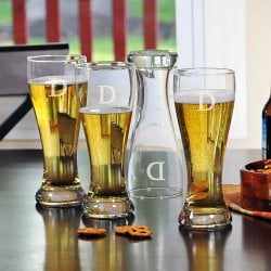 Personalized Pilsner Glasses